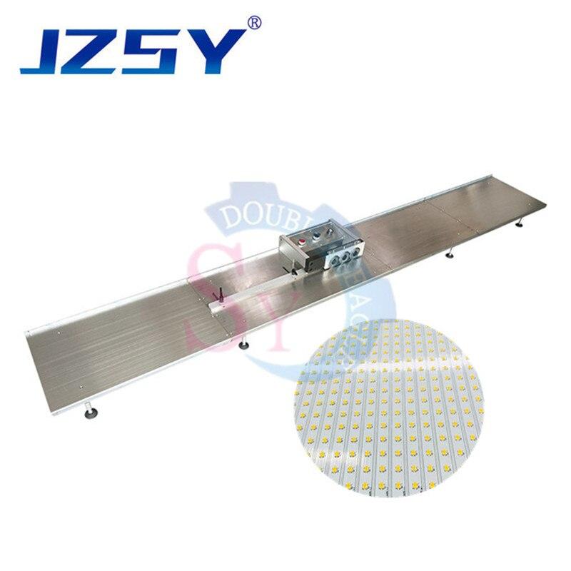Separador de PCB de tira de luz LED automática profesional de alta eficiencia 1,2 m de fibra de aluminio PCB máquina de corte/cortador