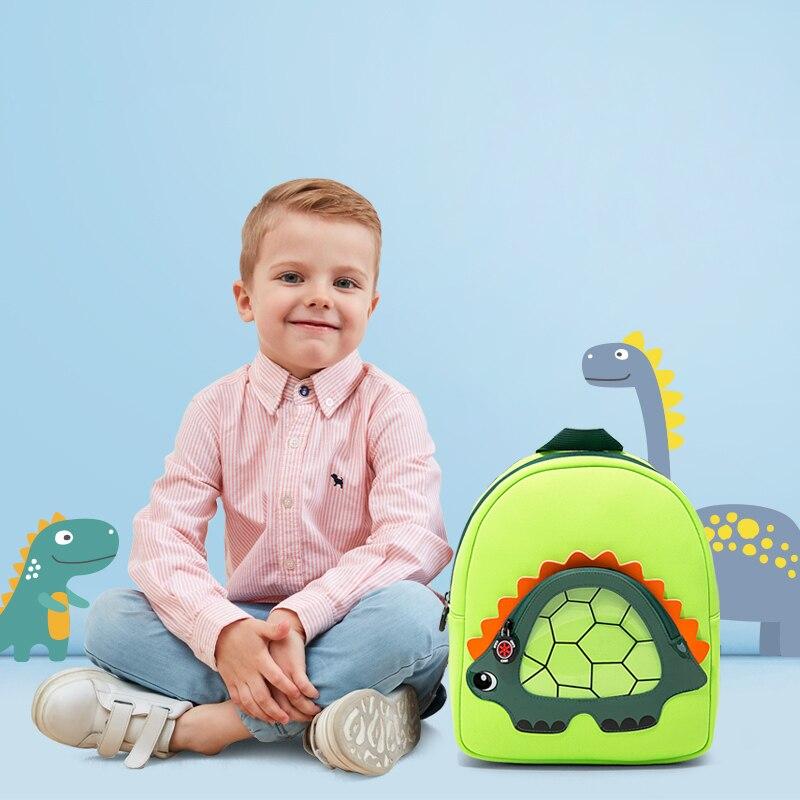 Cute Dinosaur School Bags For Boys Girls Cartoon Animals Children Backpacks Kids Fashion Child Schoolbag mochila escolar