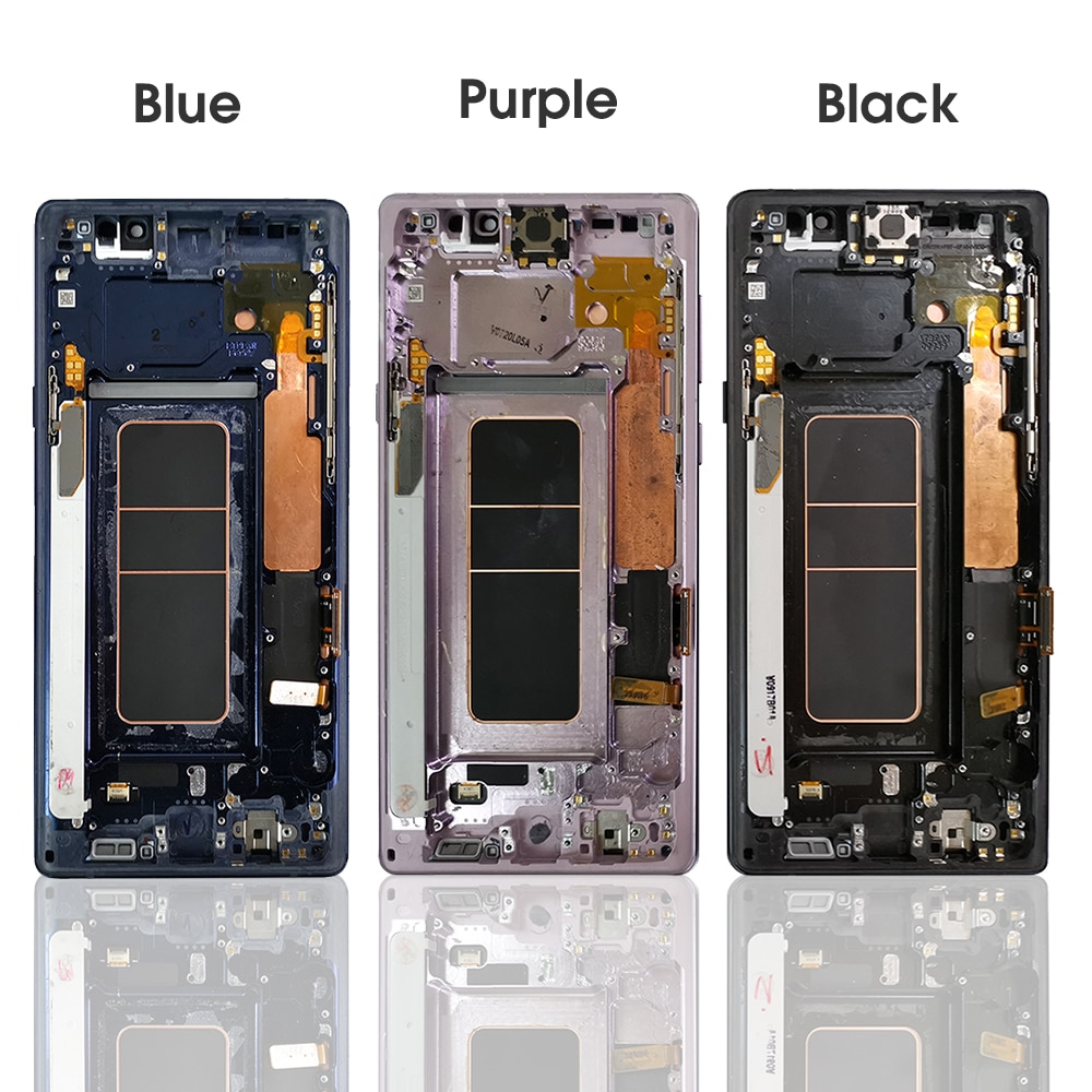Super AMOLED 6.4'' LCD Display for Samsung Galaxy Note 9 N960 N960F LCD Touch Screen Digitizer Assembly Repair with Back Glass enlarge