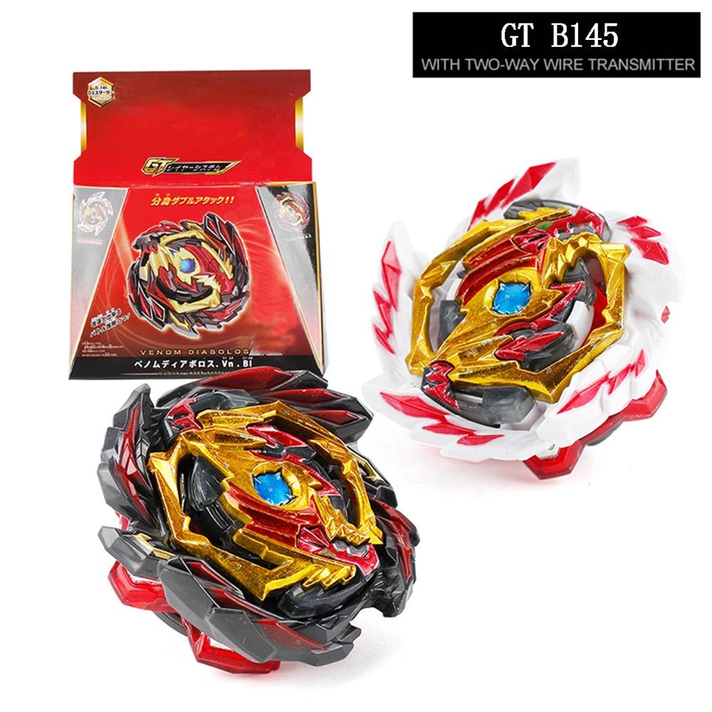 2 en 1, Beybleyd GT Burst, fusión de metales, montaje de aleación, giroscopio de dragón giratorio con regla, juguetes de lanzamiento para niños