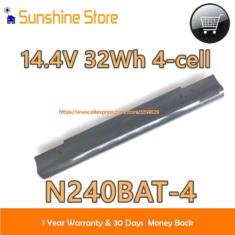 حقيقية 14.4V 32Wh N240BAT-4 6-87-N24JS بطارية كمبيوتر محمول ل N751BU N240JU lemu8 NP3245 N240WU S406 S506 VJF155F11X N250LU NP3240