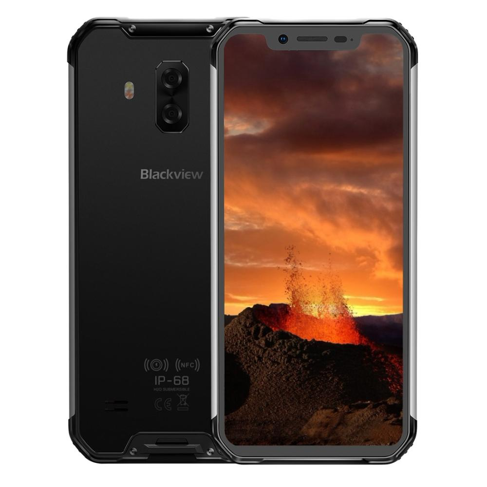 """Blackview BV9600E Phone Rugged IP68 Waterproof 4GB+128GB Mobile Helio P70 Android 9.0 Smartphone 6.21"""" FHD AMOLED NFC 5580mAh"""