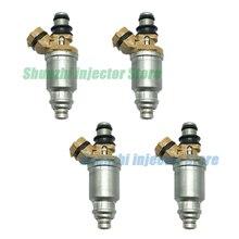 4 Uds inyector de combustible boquilla para Toyota Corolla AE110 4AFE 5AFE OEM23250-16150, 23209-16150, 2325016150 de 2320916150