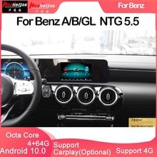 Hualingan Pour Бенц A/B/GL (4043 декодер ) -- поддержки carplay Android Машины навигации GPS HD экран Контраль аудио и звука