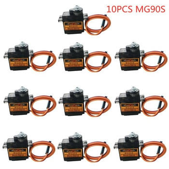 MG90S SG90 Digital 9g Micro Metal Gear Analog Servo For 450 Remote Control RC Helicopter RC Car Plane Boat Robot Accessory Parts