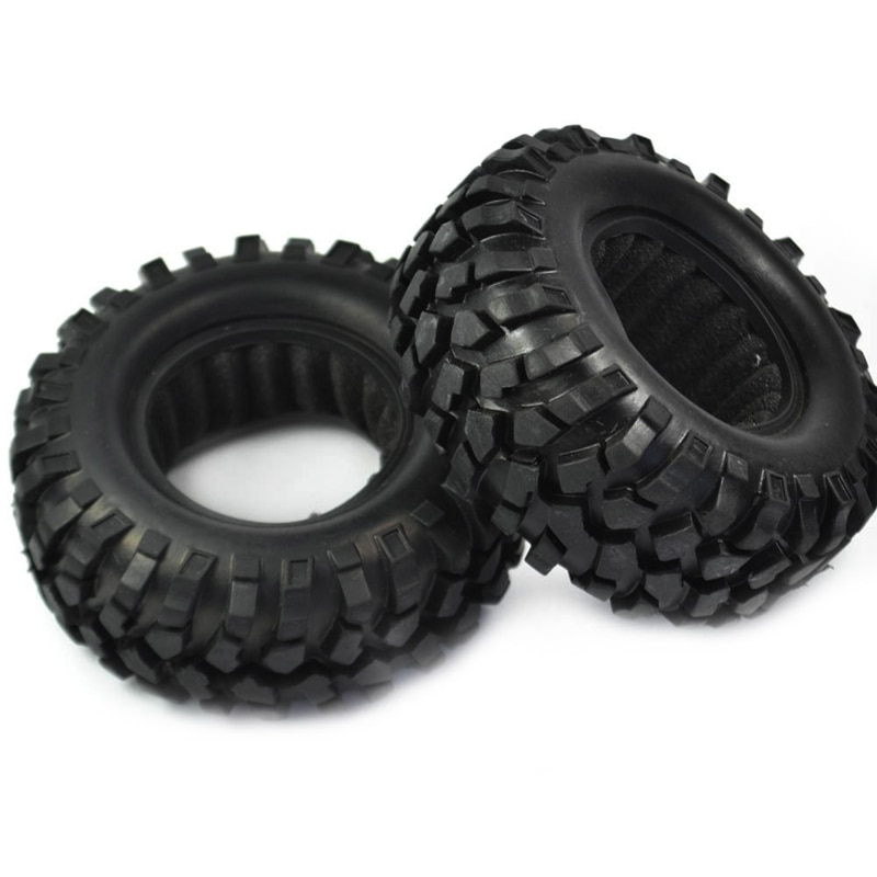 4PCS 1.9 inch Rubber Tyre 1.9 Wheel Tires 96X40MM for 1/10 RC Crawler Traxxas TRX4 Axial SCX10 III AXI03007 90046 enlarge