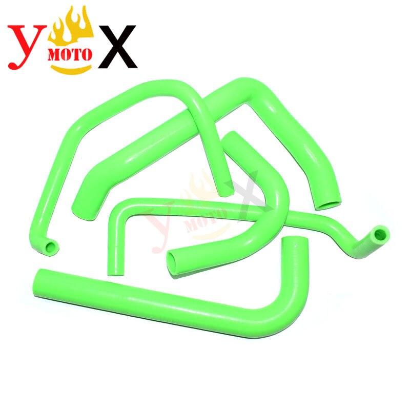 ZX-12R 02-06 الأخضر دراجة نارية سيليكون المبرد أنابيب المياه المبرد خرطوم أنبوب كيت لكاواساكي ZX12R 2002-2006 2003 2004 2005
