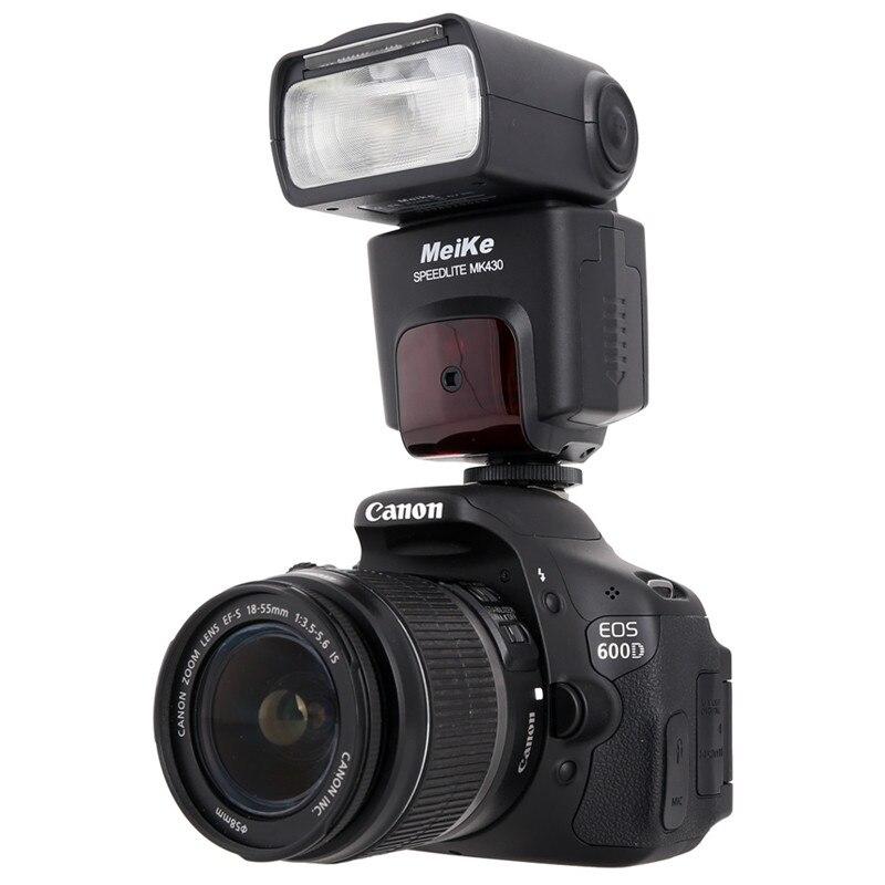 MEIKE MK-430N i-TTL Flash Speedlite para Nikon D7100 D7000 D5100 D800 D600 D300 D300s del YN-565