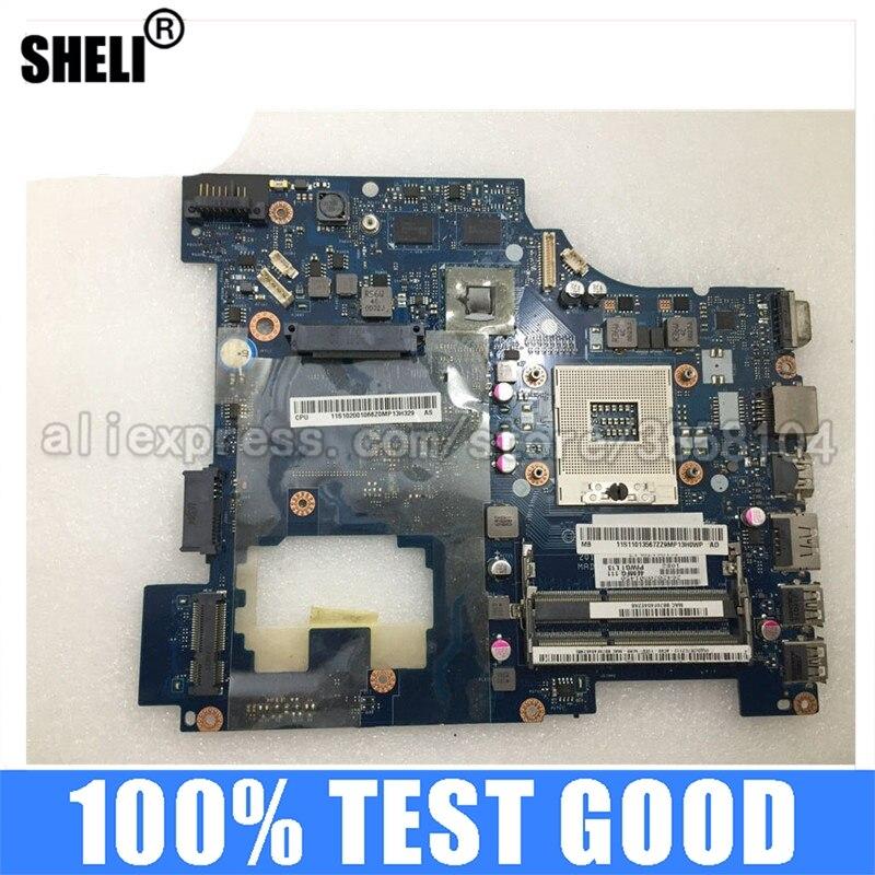 Sheli para lenovo g470 placa-mãe LA-6751P11S11013567 hd6370m 1gb 216-0774207 bom trabalho de teste