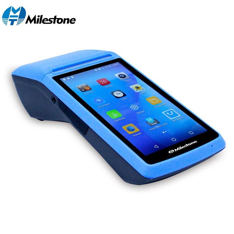 Impresora térmica Milestone máquina POS, recepción de pantalla táctil, inalámbrica, wifi, bluetooth, usb, Android IOS portátil, 58mm M1