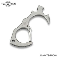 twosun knives tc4 titanium tool multi tool outdoor tool survival tools bottle opener no touch key tool keychain edc ts edc09