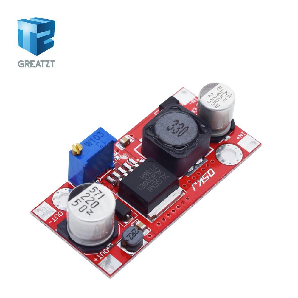 1 шт. XL6009 DC Регулируемая Шаг вперед повышающий Мощность модуль преобразователя заменить LM2577