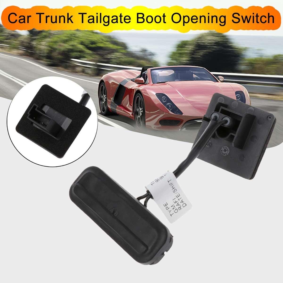Interruptor de maletero de abertura de la bota para la Insignia Opel de Opel 1241457 13359897 botón de apertura negro accesorios de coche