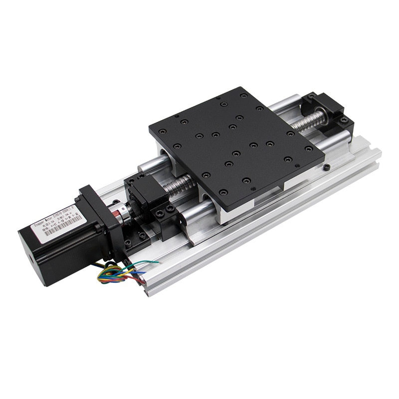 Módulo lineal de mesa de viaje de 100mm-1100mm husillo sfu1605 1610 con guías lineales SBR16 SBR16UU para motor paso a paso NEMA 23 34