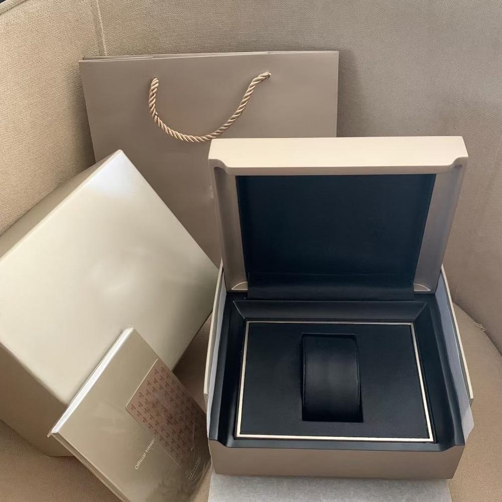 Watch Box  full set Moon Phase Series Dating Series Watch Universal master packaging Box Storage Box Manual Tote Bag