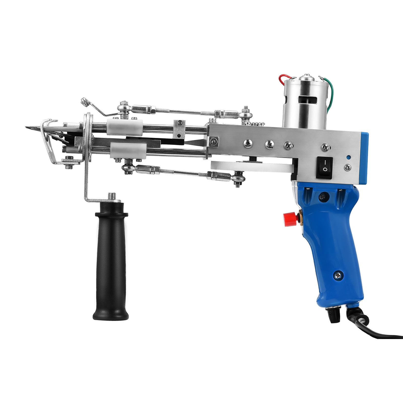 Electric Carpet Tufting Gun Cut Pile Loop Pile Hand Gun Portable Rug Weaving Flocking Machines 220V Carpet Weaving Tufting Gun enlarge