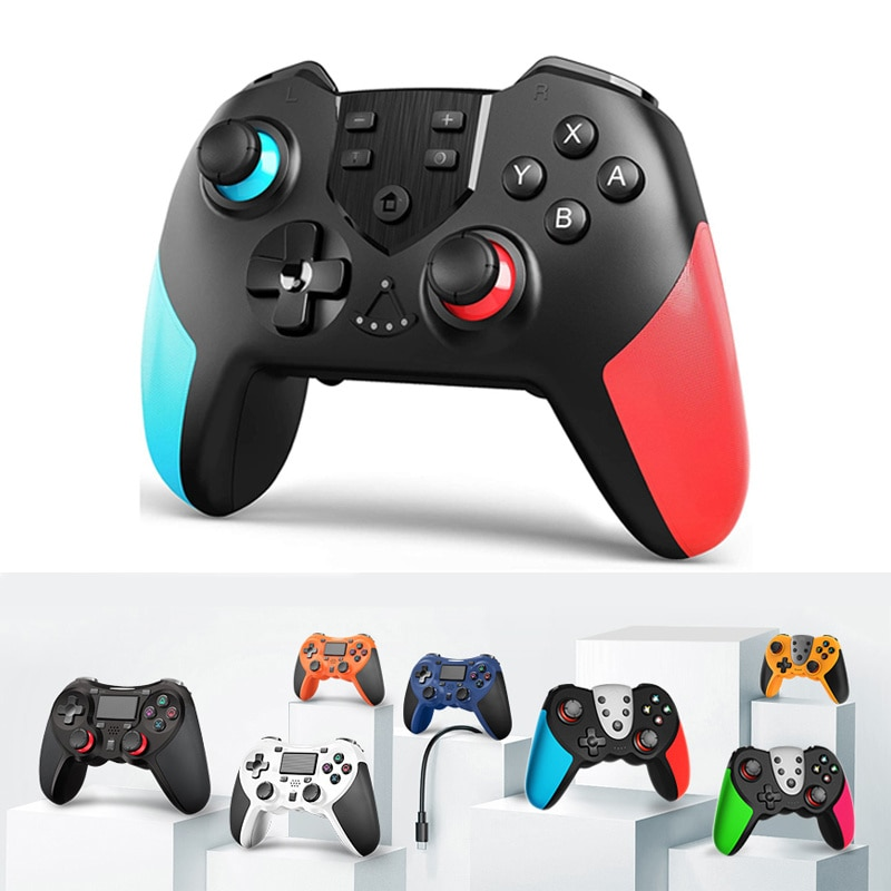 Wireless game controller for Nintendo switch, Bluetooth command with NFC for NS switch