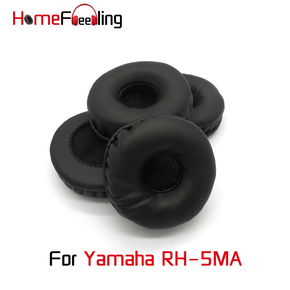 Homefeeling Ear Pads For Yamaha RH-5MA Earpads Round Universal Leahter Repalcement Parts Ear Cushions