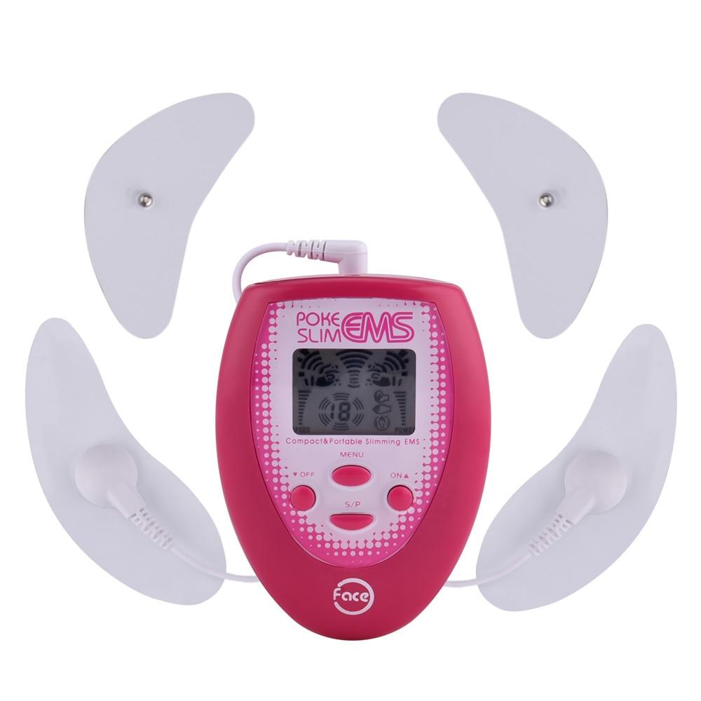 EMS-herramienta para un levantamiento de rostro, masajeador facial eléctrico con Estimulador muscular de pulso y electrodos, herramienta de belleza