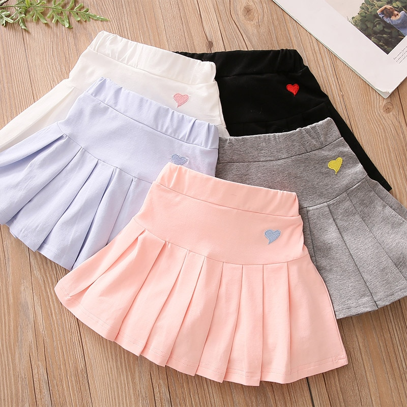 baby girls boutique clothing girls kid back to school outfits girls car camper school clothing with pink ruffle shorts with bows 2021 Summer Fashion 3 4 6 8 9 10 12 Years Cotton School Children Clothing Dance Training For Lovey Baby Girls Skirt With Shorts