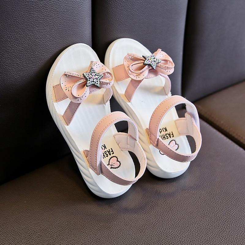 Meninas verão moda bonito sandálias de alta qualidade doce suave agradavelmente legal meninas crianças sapatos crianças sandálias