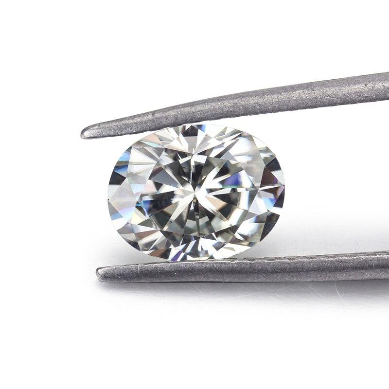 مويسانيتي لون IJ 7*10 مللي متر جودة عالية أفضل سعر لصنع المجوهرات