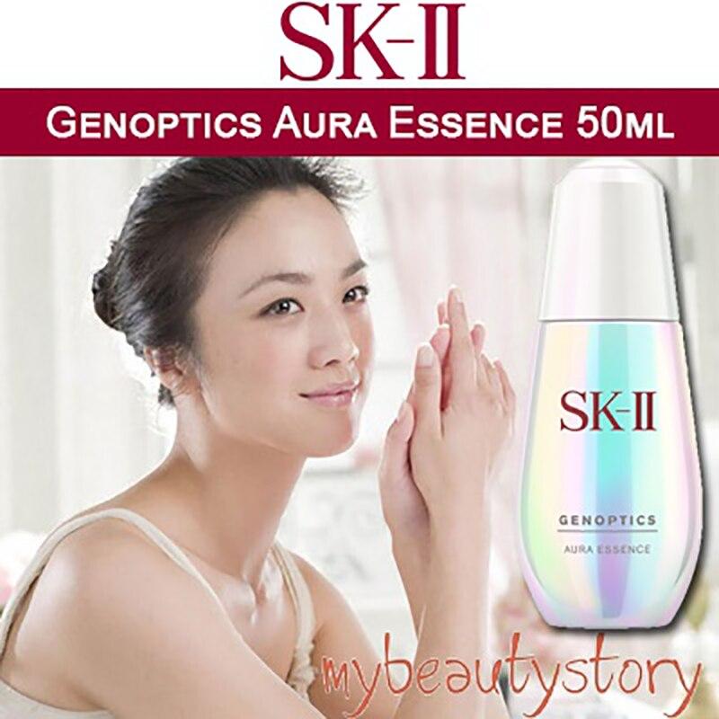 SKII / SK II / SK2 / SK-II Genoptics Aura Essence (50ML) Spot Small Bulb Essence  Skin Care Serum Br
