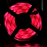 led strips iuces rgb 5050 smd 2835 wifi waterproof flexible lamp tape ribbon diode dc12v 5m christmas decoration for plant