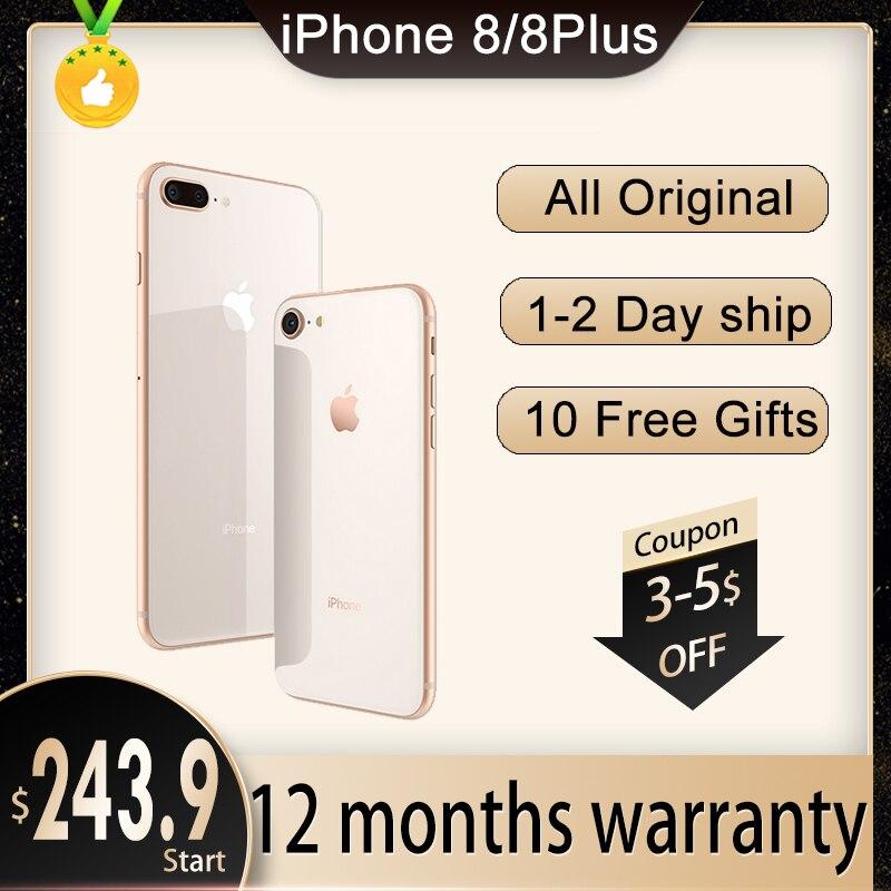 Apple Store Global Version iPhone 8 Plus/iPhone 8 3GB RAM 64GB/256GB ROM Hexa Core 5.5