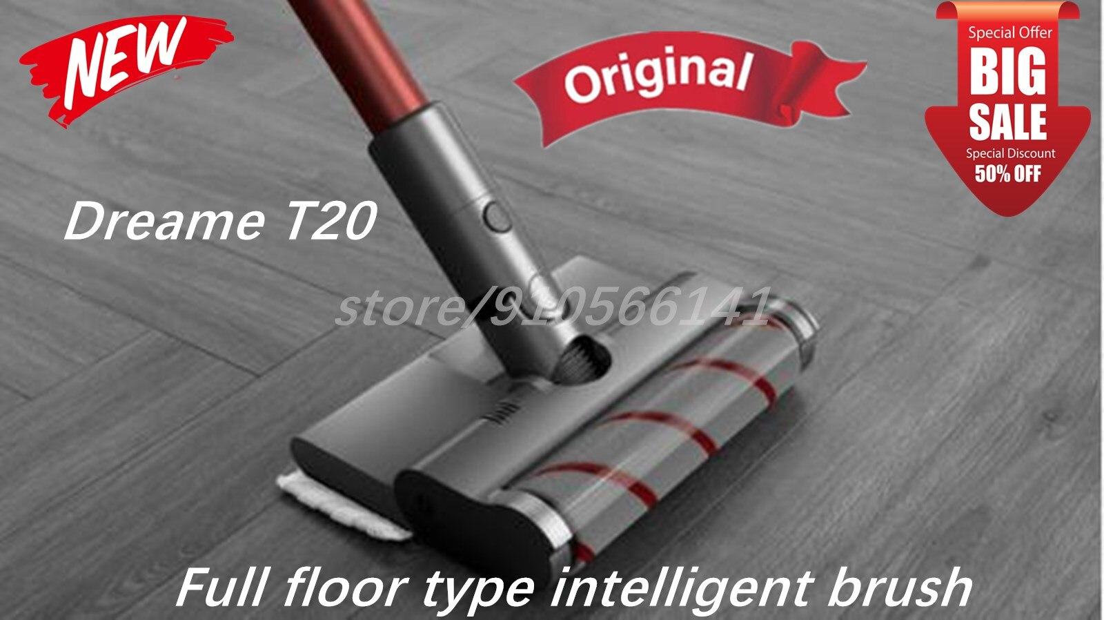 الأصلي الرئيسي جميع أنواع الكلمة الذكية فرشاة مع خزان المياه و ممسحة الملابس إكسسوارات قطع غيار ل Dreame T20 مكنسة كهربائية