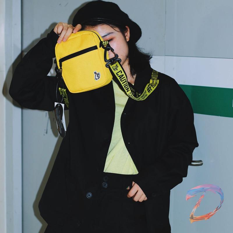 Richao Men Women FR2 Bunny Fashion Crossbody Messenger Bag FR2 Couple Shoulder Coin Purse Tide High Quality Waterproof Backpack