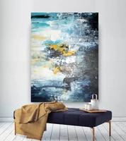 large abstract painting modern abstract painting texture art painting palette knife canvas acrylic abstract art with texture