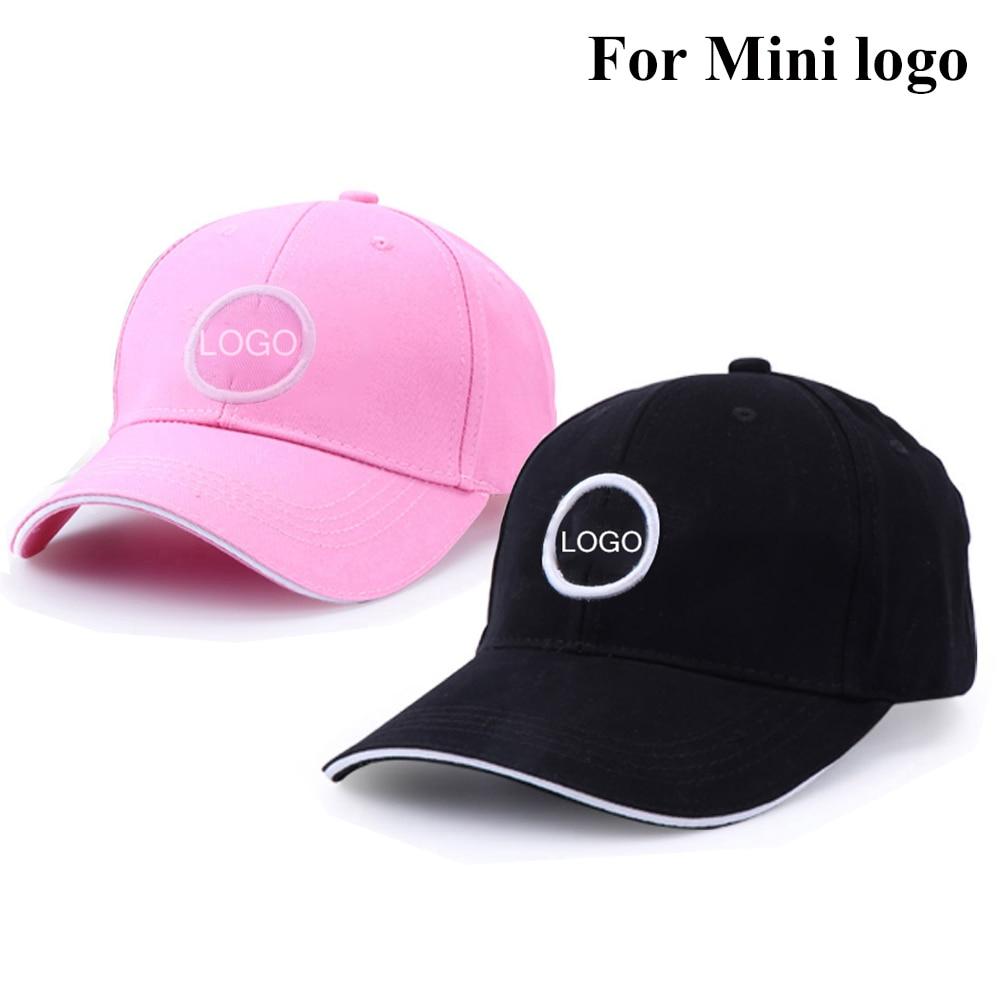 Men Woman Black Fashion Cotton Car logo Baseball Cap hat adjustable embroidery sunhat outdoor sports chapeau for MINI 2021 New