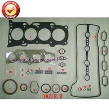1AZ 1azfe 1AZ-FE moteur joint complet kit pour Toyota RAV 4 Carina Corona pique-nique CAMRY 2.0L 02- 04111-28143 0411128143