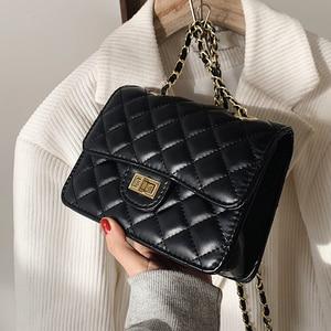 Niche Design Hot Style Handbags 2021 Popular New Fashion Chain Wild Crossbody High-end Western Style Square Bag Width: 19cm