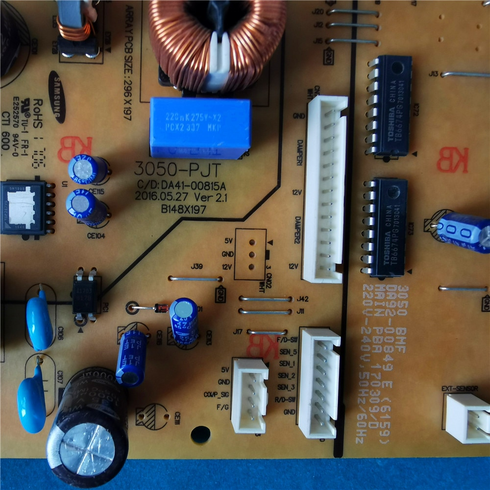 Good-working For  Refrigerator computer board power module 3050-PJT DA41-00815A DA92-00849E Inverter main board enlarge