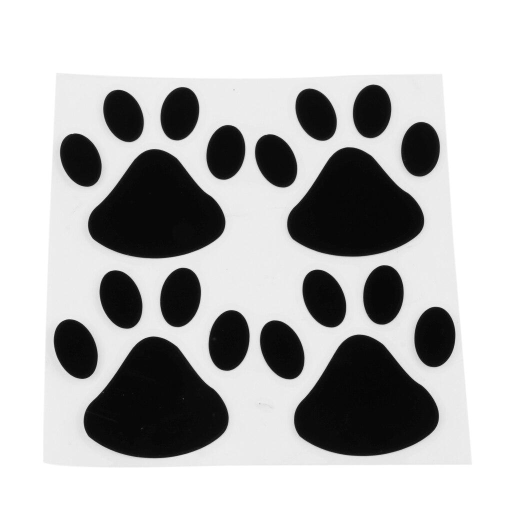 Bonita pegatina con diseño de garra para coche pegatinas de huella de perro Garra Para cachorro