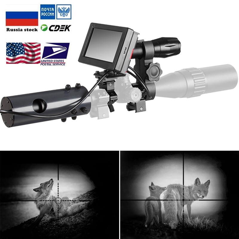 850nm المصابيح الحمراء IR للرؤية الليلية جهاز نطاق البصر كاميرات في الهواء الطلق 0130 للماء الحياة البرية فخ كاميرات