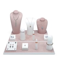 resin paint jewelry jewelry display stand ring necklace bracelet bare stone jewelry display props can be customized