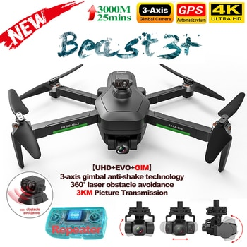 NEW SG906 MAX1 Drone 4K Profesional GPS with WiFi 4K HD Camera 3-Axis Gimbal Obstacle Avoidance 3000M Image RC Quadcopter Toys
