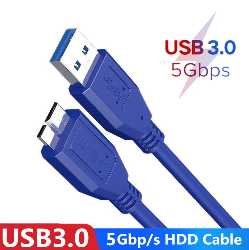 Cable externo de disco duro HDD para Samsung S5, Note3, Toshiba, WD,...