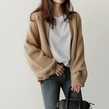 2021 Women's Autumn New Sweater Casual Fashion Commuter All-match Style Solid Color Long-sleeved Laz