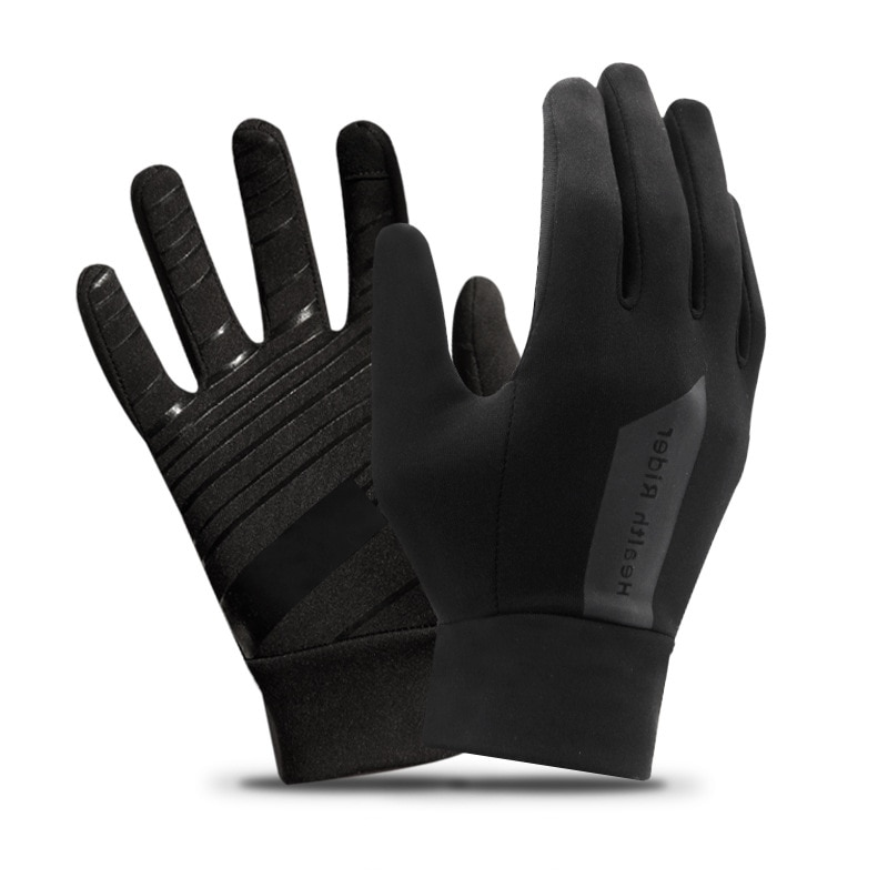 Sports Cycling Gloves Full Finger Anti Slip Windproof Riding MTB Bike Gloves Motorcycle Men Women  Winter Autumn Bicycle Gloves