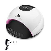 80W UV Led Lamp Nail Dryer For All Types Gel 36 Leds Lamp For Nail Manicure Sunlight Infrared Sensing Not Over Paint