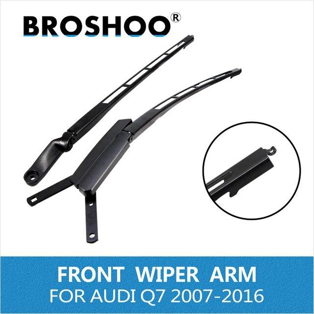 BROSHOO car auto parts wiper For Audi Q7 2007-2016 front window left / right wiper arm replacement rocker 4L1955407A /4L1955408B