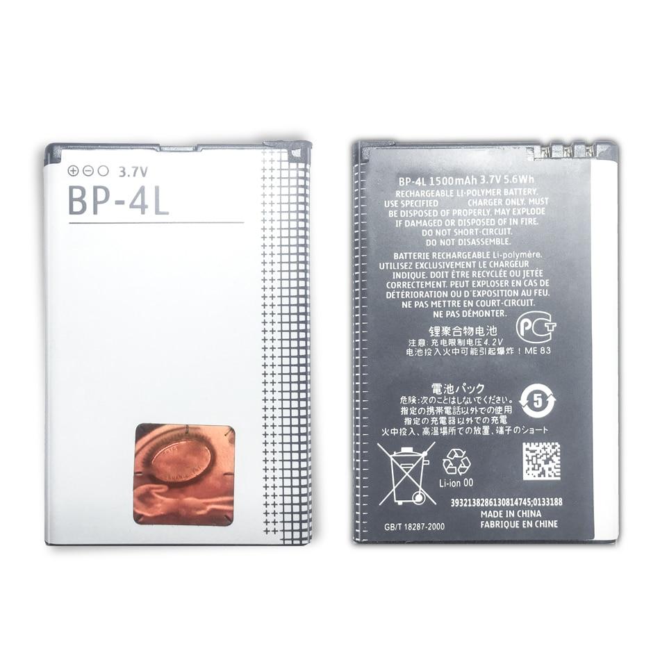 Batterie BP-4L 1500mAh Für Nokia E52 E55 E63 E71 E72 E73 N810 N97 E90 E95 6790 6760 6650 BP-4L telefon Batterie