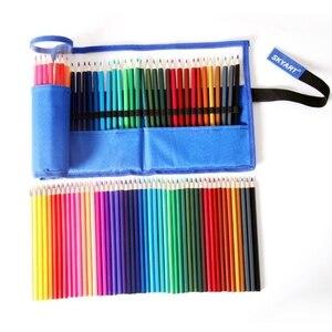 Чехол N7MC для карандашей, цветной чехол с 48 отделениями для ручек и ручек