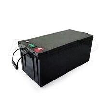 Литий-ионный Аккумулятор LiFePo4 12 В, Инвертор солнечной энергии 12 В, 200 ач