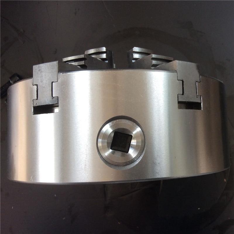 160mm 6 Jaw Lathe Chuck Self-Centering Chuck 6'' 6  Plain Back Hardened Steel for CNC Milling Lathe Machine Lathe Chuck enlarge