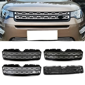 Front Radiator Grille Upper Racing Grill For Land Rover Discovery Sport L550 2015 2016 2017 2018 2019 Car Styling Accessories